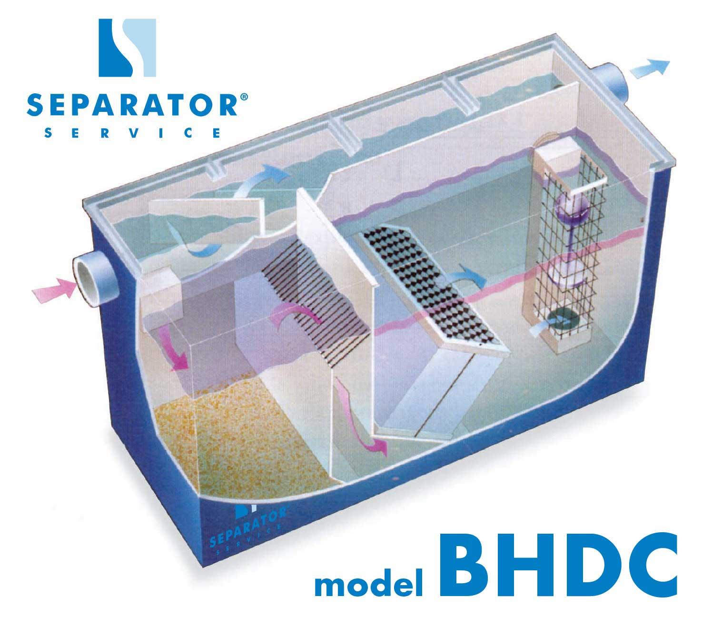 Poważne Separator koalescencyjny substancji ropopochodnych model BHDC PL93