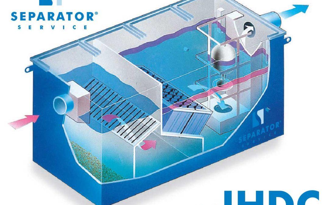 Separator koalescencyjny substancji ropopochodnych model IHDC